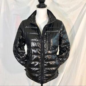 J Crew High-Shine Down Puffer Jacket